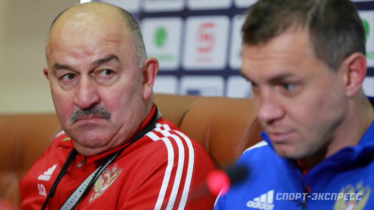 """Cherchesov: """"Without calling Dziuba in November I already knew that he would be missed"""""""